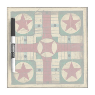 Antique Parcheesi Game Board by Ethan Harper