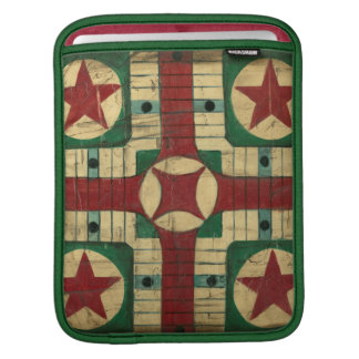 Antique Parcheesi Game Board by Ethan Harper iPad Sleeve