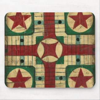 Antique Parcheesi Game Board by Ethan Harper Mouse Pad