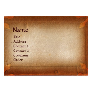 ANTIQUE PARCHMENT / LEGAL OFFICE, ATTORNEY LARGE BUSINESS CARDS (Pack OF 100)