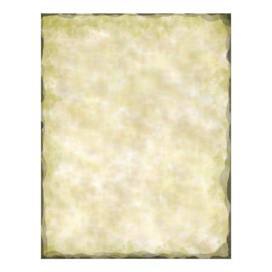 Antique Parchment Letterhead