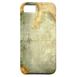 Antique Parchment  Map iPhone SE/5/5s Case