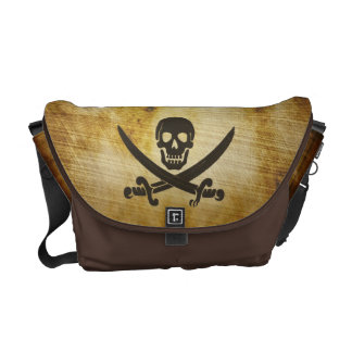 Antique Parchment Pirate Messenger Bag