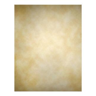 """Antique Parchment Vignette Texture Background 8.5"""" X 11"""" Flyer"""