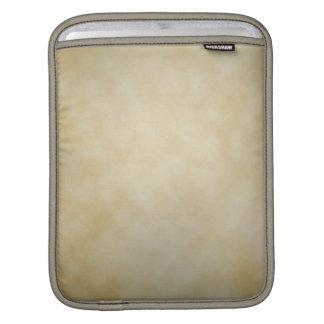 Antique Parchment Vignette Texture Background Sleeve For iPads
