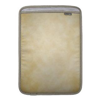 Antique Parchment Vignette Texture Background MacBook Air Sleeve