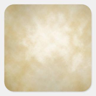 Antique Parchment Vignette Texture Background Stickers