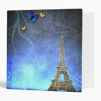 Antique Paris Binder