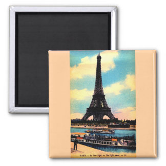 Antique Paris French Chic Eiffel Tower Magnets