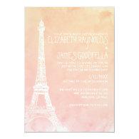 Antique Paris Wedding Invitations 5