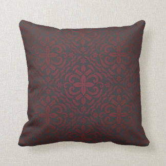 antique pattern style v9 throw pillow