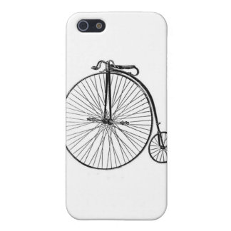 Antique Penny Farthing Bicycle Case For iPhone SE/5/5s