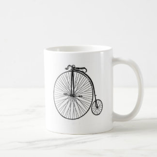 Antique Penny Farthing Bicycle Classic White Coffee Mug