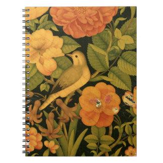 Antique Persian floral book binding