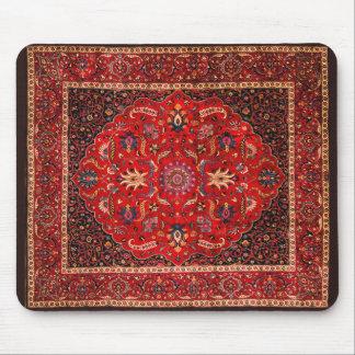 Antique Persian Mashhad Rug Mouse Pad