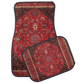 Antique Persian Mashhad Rug Floor Mat