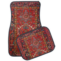 Antique Persian Pattern, Oriental Car Floor Mat