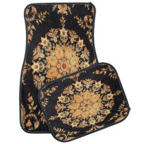 Antique Persian , Turkish Carpet Car Floor Mat