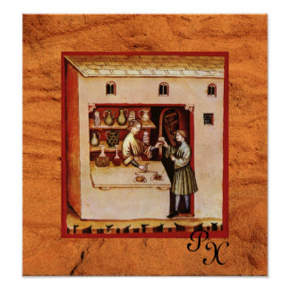 ANTIQUE PHARMACY,Pharmacist, Medicine, Drug Store Poster