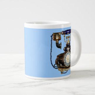 Antique Phone Giant Coffee Mug