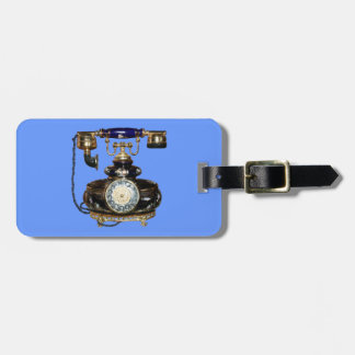 Antique Phone Tag For Luggage