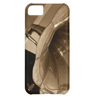 Antique Phonograph Gramophone Gifts Music Lovers iPhone 5C Cover