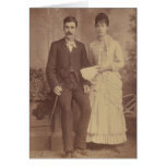 Antique Photo Anniversary Greeting Cards