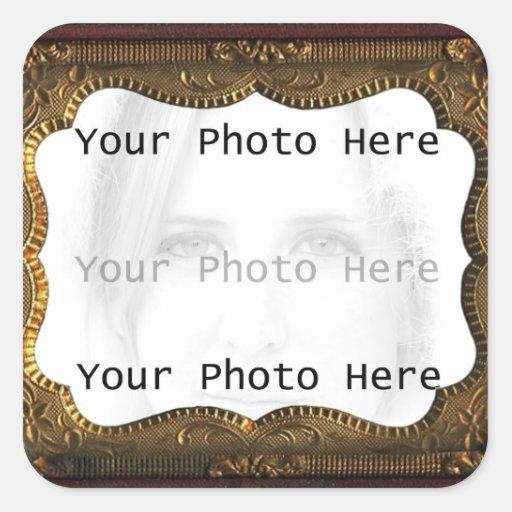 Antique Photo Frame Stickers