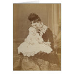 Antique Photo Mothers Day Card Funny Poem Inside
