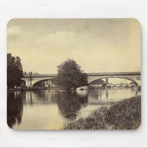 Antique Photograph of Maidenhead Railway Bridge Mousepads