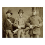 Antique Photograph - The Hunting Party Post Card