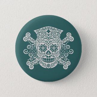 Antique Pirate Nurse Button