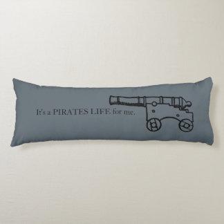 Antique Pirate Ship Cannon Quote Nautical Arrrr Body Pillow