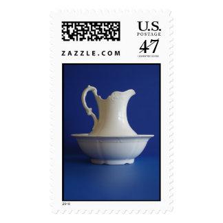 Antique Pitcher Postage Stamp