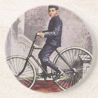 Antique Pneumatic Tire Bicycle Coaster