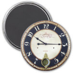 Antique Pocket Watch 3 Inch Round Magnet
