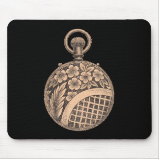 Antique Pocket Watch Horology Steampunk Mouse Pad