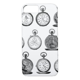 Antique Pocket Watches Stop Watch iPhone 8/7 Case