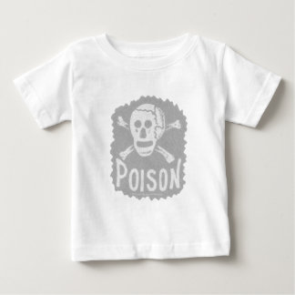 Antique Poison Label Transparency Baby T-Shirt