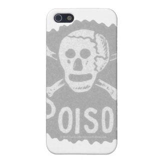 Antique Poison Label Transparency iPhone SE/5/5s Case