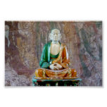 Antique pottery Buddha Posters