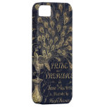 Antique Pride and Prejudice Peacock Edition Cover iPhone 5 Cases