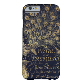 Antique Pride and Prejudice Peacock Edition Cover Barely There iPhone 6 Case
