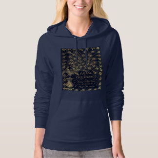 Antique Pride and Prejudice Peacock Edition Cover Hoodie