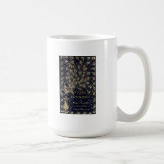 Antique Pride and Prejudice Peacock Edition Cover Classic White Coffee Mug