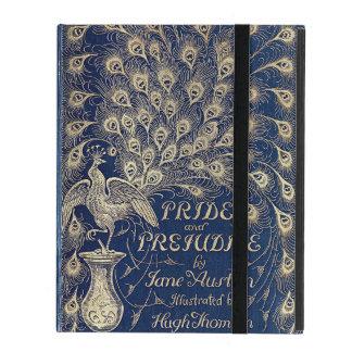 Antique Pride And Prejudice Peacock Edition iPad Cover