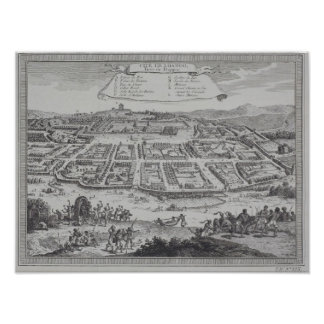 Antique Print of Congo
