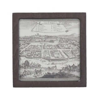 Antique Print of Congo Gift Box