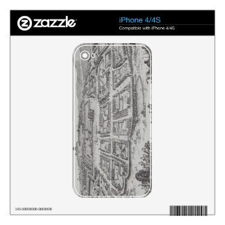 Antique Print of Congo Skin For The iPhone 4S