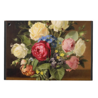 "Antique Print ""Victorian Roses"" iPad Hard Cover"